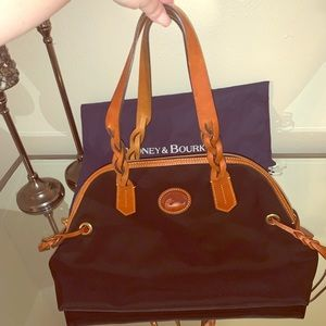 Dooney & Bourke nylon domed satchel